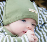 Baby - Take Me Home Outfit - Cute Cap - Sage