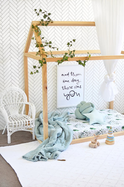 Fitted Cot Sheet - Enchanted