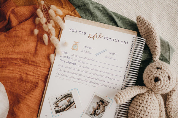 Baby Journal - Your Story Memory Book
