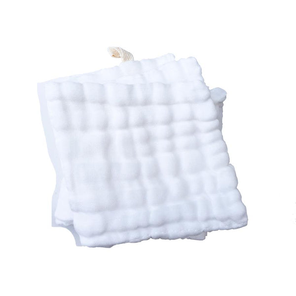 Organic Cotton Gauze Wash/Burp Cloth - 2 Pack