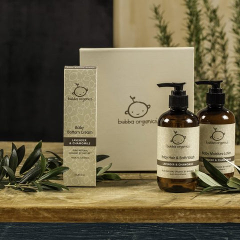 Bath - Bubba Organics - Lavender & Chamomile Essentials Gift Box