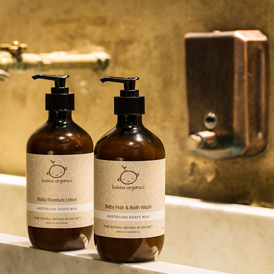 Baby - Bubba Organics - Australian Goats Milk Hair & Bath Wash
