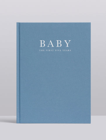 Baby Journal - Birth to Five Years - Blue