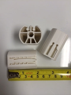 "2"" replacement barrels for 6 sided rod (qty 3) - Wholesale Blindparts"