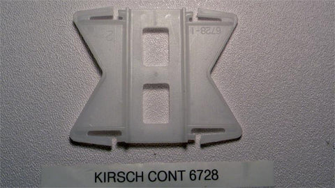 "Kirsch Continental II 6728 2 1/2"" Flexible Corner Connector - Wholesale Blindparts"