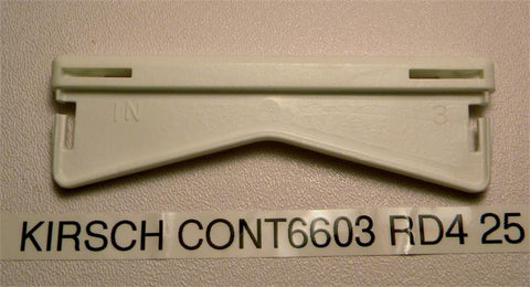 "Kirsch Continental 6603 RD4 25 brackets 4.5"" - Wholesale Blindparts"
