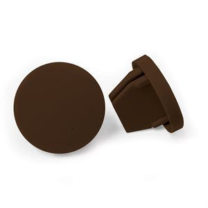 Coolaroo Bottom Rail End Cap (Pair) - Wholesale Blindparts
