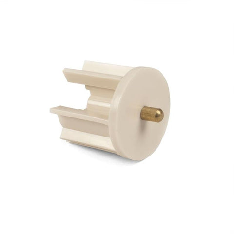 Coolaroo Exterior Sun Shade Idle End Plug Rib 40 MM - Wholesale Blindparts