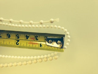 Plastic 3.2mm bead chain loops select size - Wholesale Blindparts