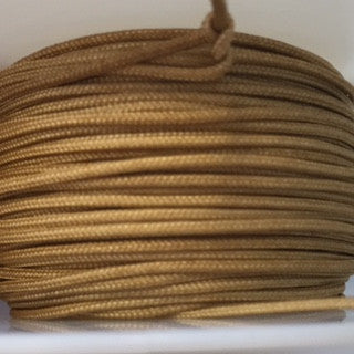 1.2MM LIFT CORD TENDER TAUPE used in RV shades and top down shades 75 FOOT ROLL - Wholesale Blindparts