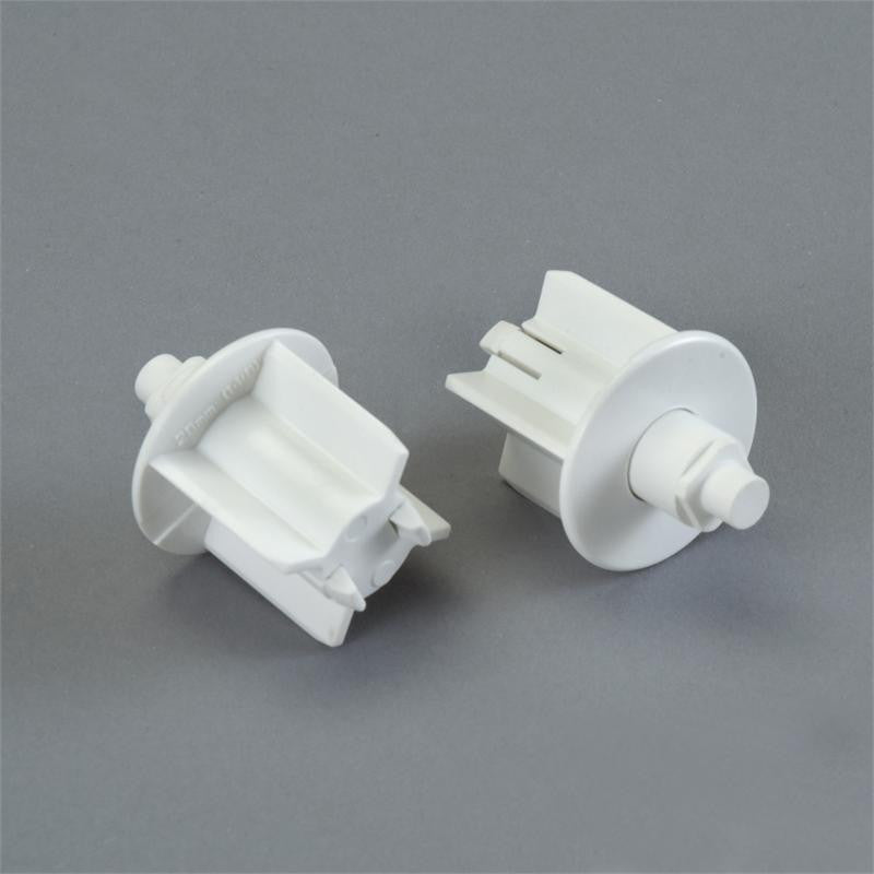 Rollease pin end for SL series for 1 1/8 inch OD tube white - Wholesale Blindparts