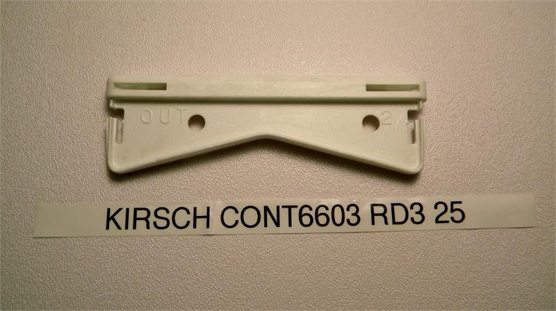 "Kirsch Continental 6603 RD3 25 Brackets 4.5"" - Wholesale Blindparts"