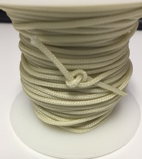 1.8mm Lift Cord for Wood and Faux Wood Blinds, ALABASTER- OFF WHITE - Wholesale Blindparts