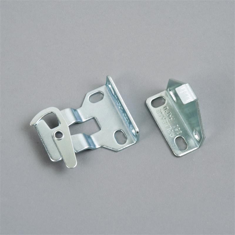 Rollease R Series RB360 bracket, for use with R8 clutch, 1 1/2 inch projection, in zinc (pair) - Wholesale Blindparts