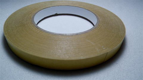 Rollease 2 sided adhesive tape for attaching fabric to roller 1/2 inch wide x 36 ft - Wholesale Blindparts