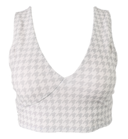 Gray Houndstooth Switch V Crop