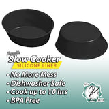 Silicone Slow Cooker Liner By Mrs. V's Kitchen