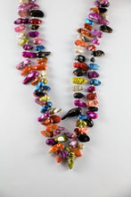 Load image into Gallery viewer, BL1409R Colour Pearl Neckace