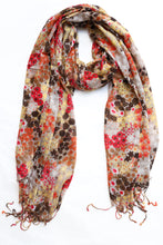 Load image into Gallery viewer, Lightweight Floral Scarf