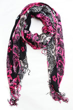 Load image into Gallery viewer, Abstract Cotton Scarf