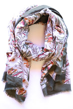 Load image into Gallery viewer, Batik Floral Scarf