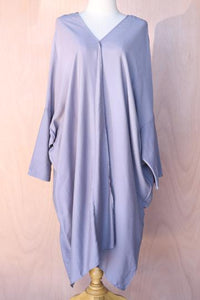 Simple Drape Front Dress