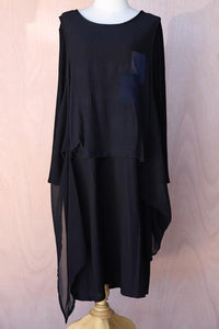 Two Layer Geo Dress