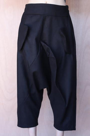 Drop Crotch Detail Pant