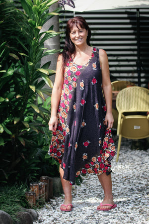 Swing Dress Rose