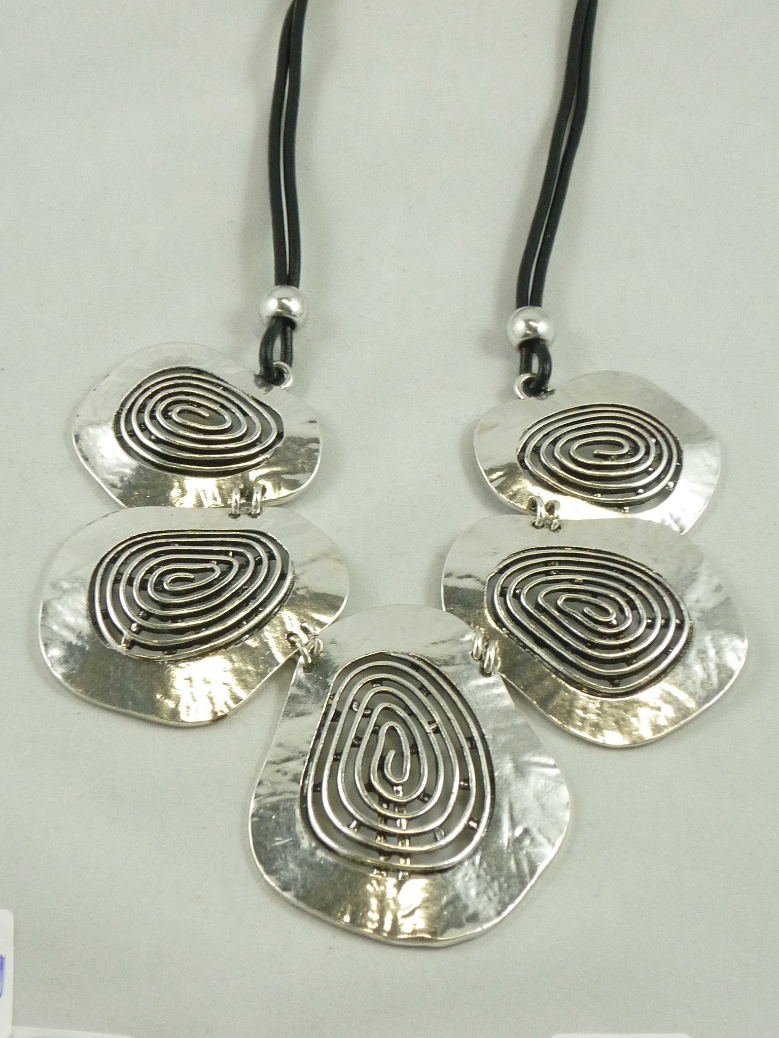 Chunky Spiral Necklace