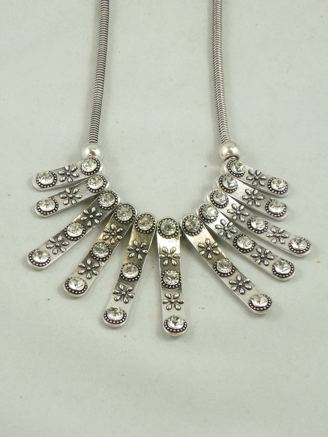 CZ Statement Necklace