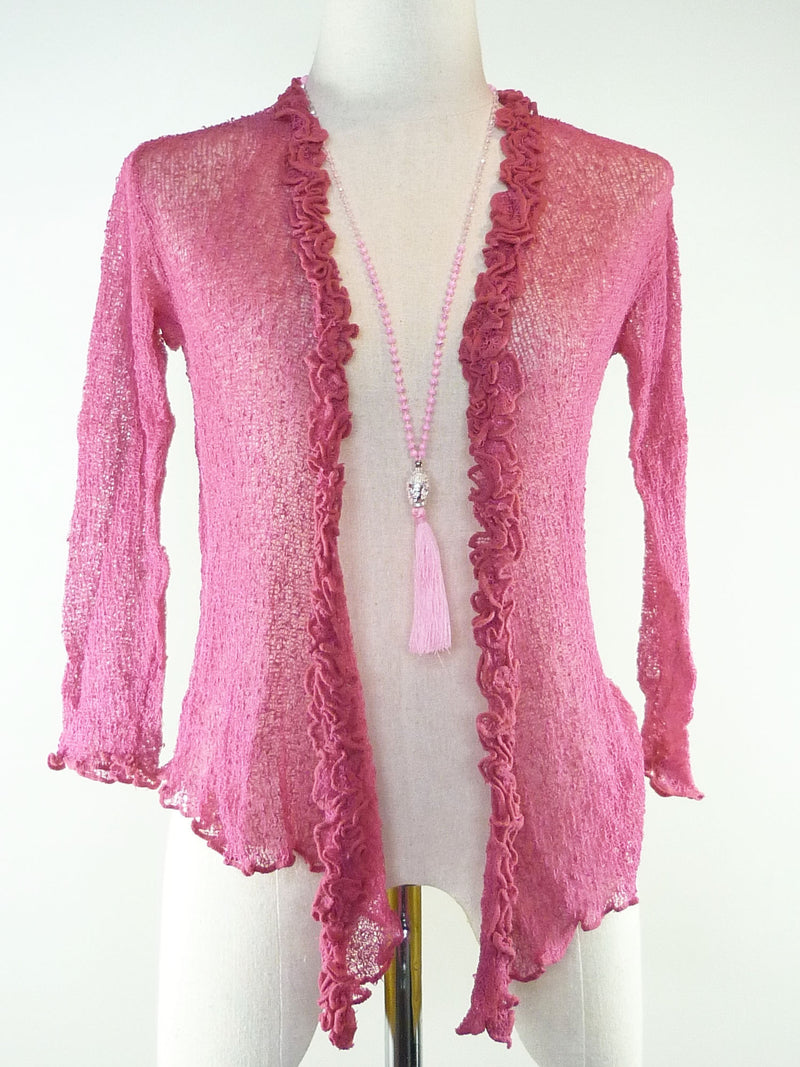Resort Cardi Frilly
