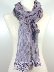 Frillie Rose Scarf
