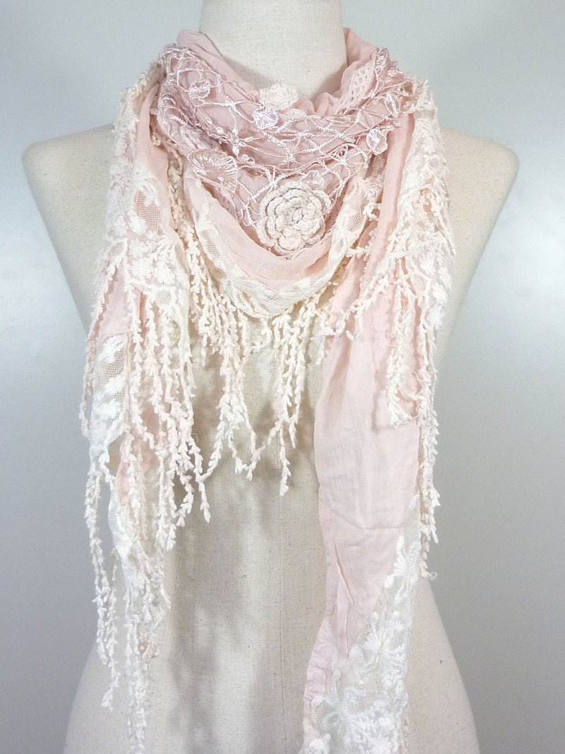 Triangle Lacey Scarf