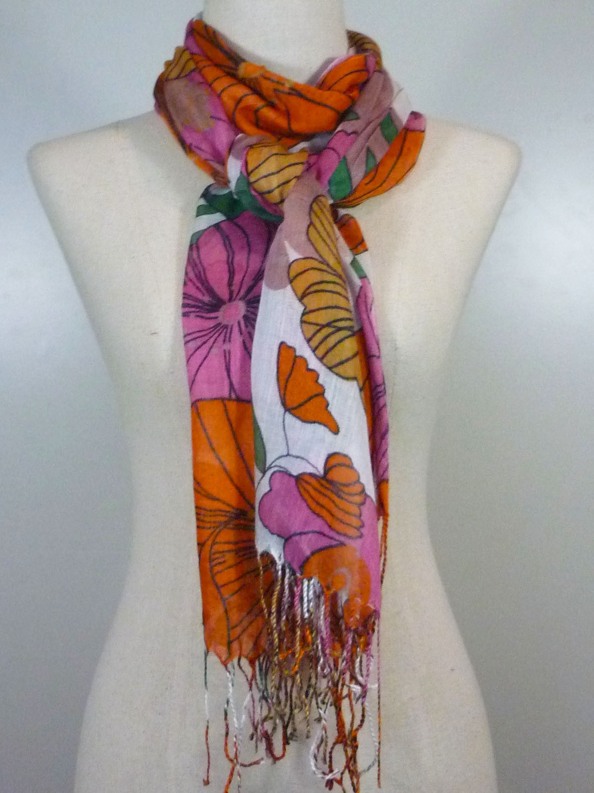 Cotton Meadow Scarf