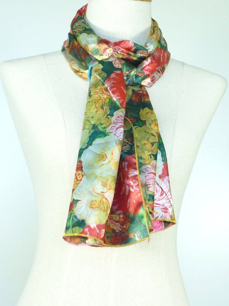 Reversible Satin Scarf