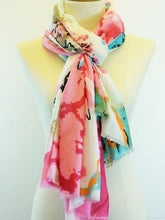 Load image into Gallery viewer, Santorini Sarong Scarf