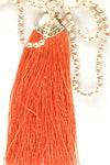 Plain Tassle Necklace
