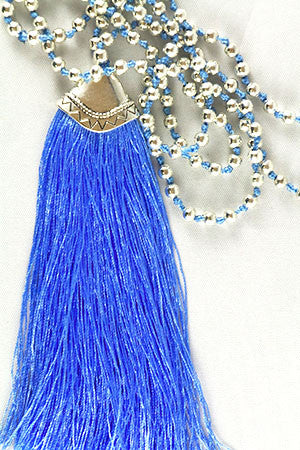 Plain Tassel Necklace