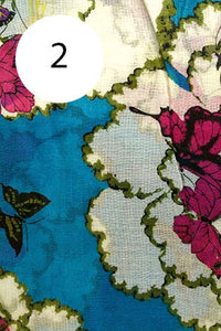 Cotton Butterfly Scarf