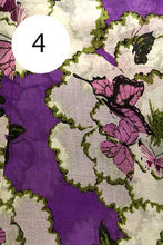 Load image into Gallery viewer, Cotton Butterfly Scarf