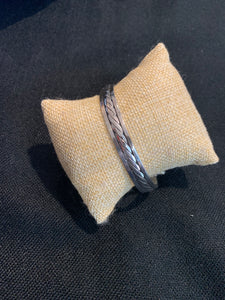 Sterling Silver Narrow Cuff Bracelet
