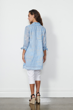 Load image into Gallery viewer, Caju Cotton Tie Cuff Tunic