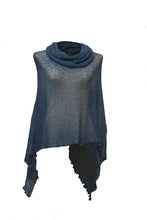 Load image into Gallery viewer, Cowl Neck Poncho