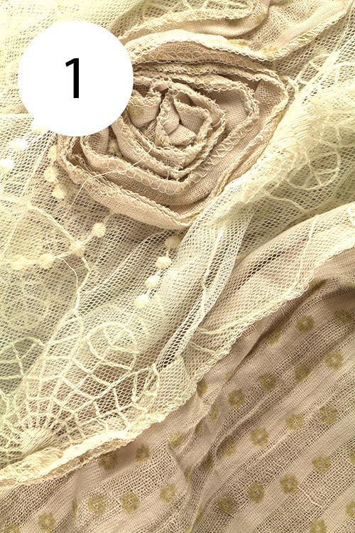 Lace Flower Scarf