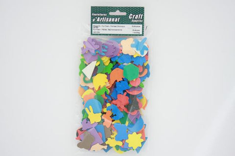 CB1054 Fun Foam Pieces Animal Shapes Multi Color 1 bag approximately 15 grams