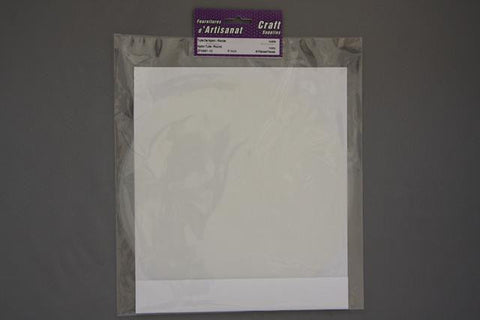 ZF0991-10 Round Nylon Tulle 9 inch Ivory 8 Pieces