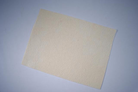 ZP103-10 Felt Rectangular 9 x 12 inch Ivory 25 Pieces