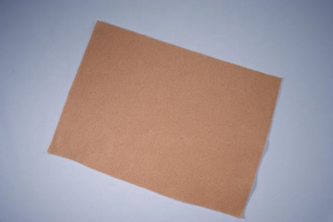 ZP103-11 Felt Rectangular 9 x 12 inch Beige 25 Pieces