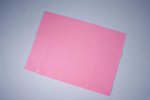 ZP103-55 Felt Rectangular 9 x 12 inch Hot Pink 25 Pieces